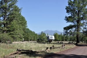 Boondocking in the Coconino National Forest near Flagstaff, AZ